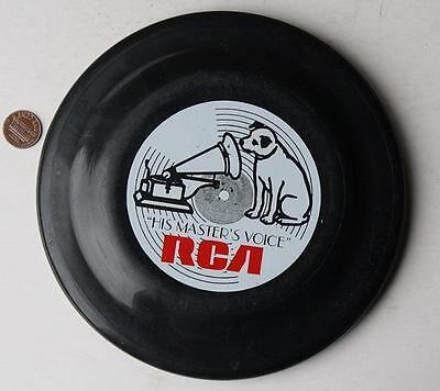 1980s Era RCA His Master's Voice Nipper the Dog logo Humphrey Flyer Frisbee Disc