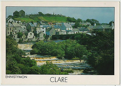 ENNISTYMON CLARE 1990s POSTCARD UN-POSTED BY INSIGHT CARDS LIMITED SP222
