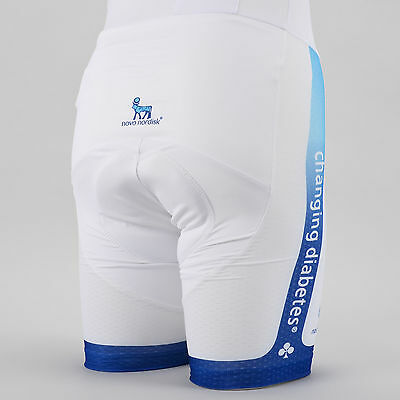 Nalini Novo Nordisk Team Cycling Lightweight Summer Bib Shorts SMALL Road Bike