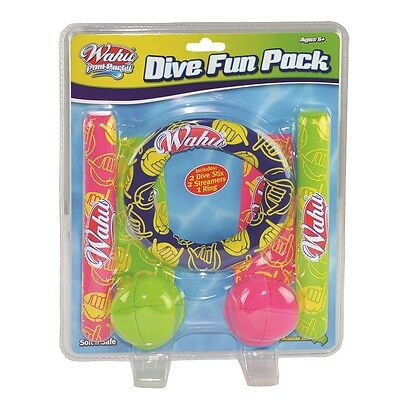 Brand New Wahu Pool Party: Dive  Fun Pack Bma312