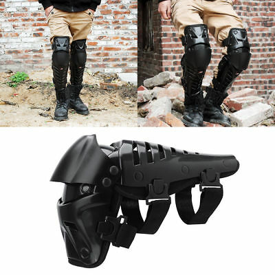 Motorcycle Motocross Knee Pads Kneelet Brace Shin Guards Protective Armor Kit