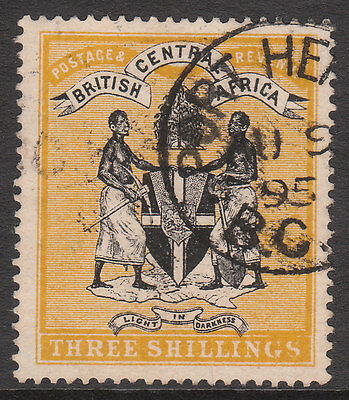 BRITISH CENTRAL AFRICA BCA 1895 #27 USED VICTORIA STAMP a