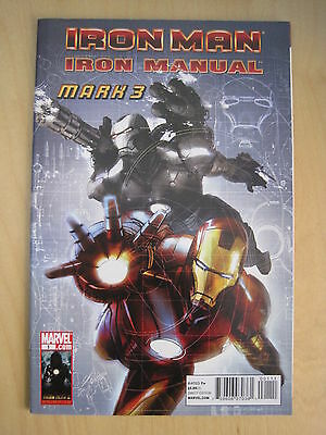 IRON MAN : IRON MANUAL, MARK 3. 48 page ONE-SHOT. MARVEL. 2010