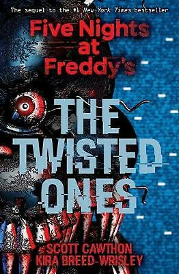 Five Nights At Freddy's: the Twisted Ones by Scott Cawthon Paperback Book Free S