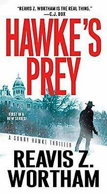 Hawke's Prey by Reavis Z. Wortham Paperback Book Free Shipping!