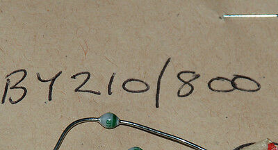 New Old Stock Components - By210/800 Diode Rectifier  Quantity 1. Box 1