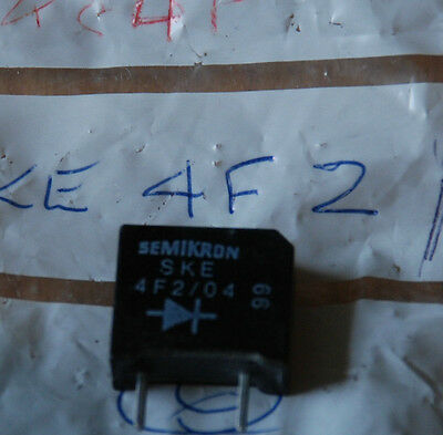 New Old Stock Components - Ske4F2/04 Diode Rectifier  Quantity 1. Box 1