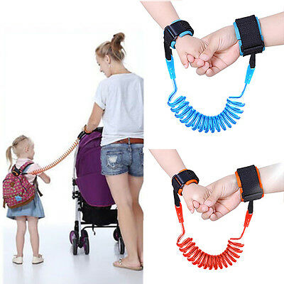 Toddler Kid Safety Anti-lost Strap Link Harness Child Wrist Band Belt UK STOCK