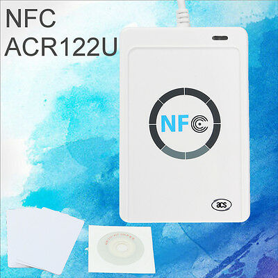 NFC ACR122U RFID Contactless smart Reader & Writer/USB + SDK + Mifare IC Card
