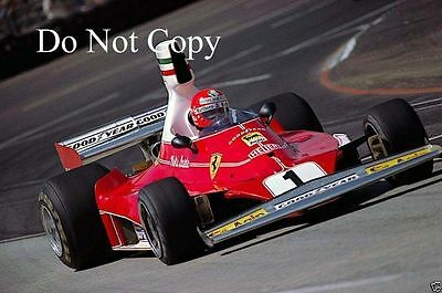 Niki Lauda Ferrari 312 T USA Grand Prix Long Beach 1976 Photograph 2