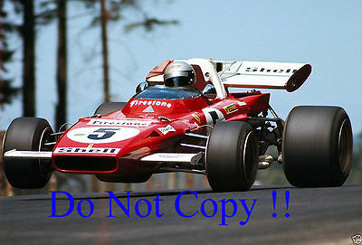 Mario Andretti Ferrari 312 B2 German Grand Prix 1971 Photograph