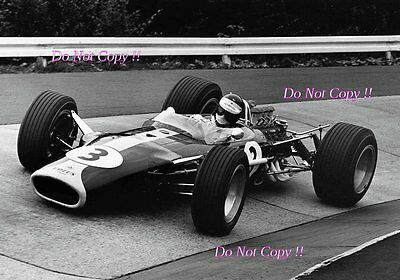 Jim Clark Lotus 49 German Grand Prix 1967 Photograph 5