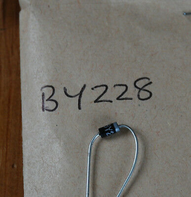 New Old Stock Components - Rectifier Diode  - By228 Quantity 2 - Box 2