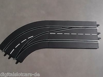 Carrera Digital 124/132 30363 Track Change Curve Left / Outside to Interior NEW