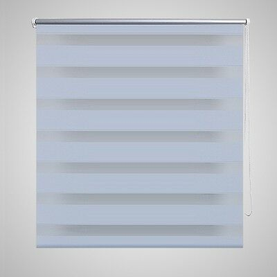 Roller Blind Blackout 120x230cm White Daynight Sunscreen Quality Window Blinds