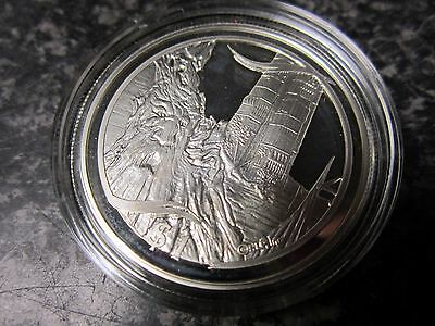 Silver Dollar 1oz Coin - New Zealand 2003 $1 - Lord of the Rings - Treebeard Ent