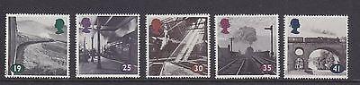 UK British Mint Stamps The Age of Steam 1994