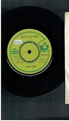 Be Bop Deluxe Panic In The World 45 1978 Harvest