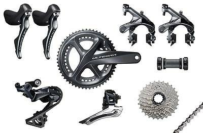 Shimano Ultegra R8000 - 11 Speed - Compact Road Bike Groupset