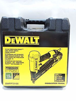 (MA3) Dewalt DWFP72155 15 Guage Pneumatic Precision Point Style Finish Nailer