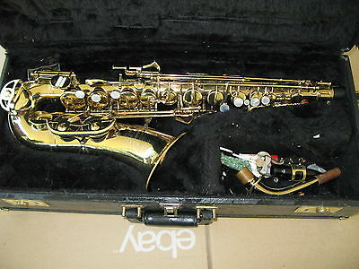 1980's Buescher 400 Alto Saxophone Just Serviced and Ready to Play