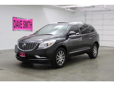 2017 Buick Enclave Leather Sport Utility 4-Door 17 Buick Enclave AWD Power Lift Gate Remote Start Sunroof Dave Smith Motors