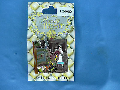 BEAUTY & The BEAST  Disney Pin 2016 25 ENCHANTED YEARS BELLE Limited Edition NEW