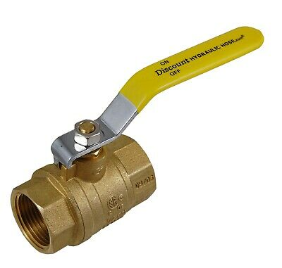 "Lot of 20 3/4"" NPT Forged Brass Ball Valve, 600# WOG 943-203"