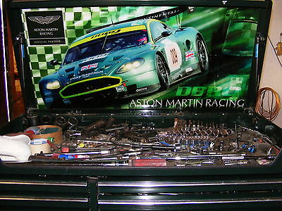 Aston Martin Snap on tool box with tools Plus Launch X341 Diagnostic Scanner