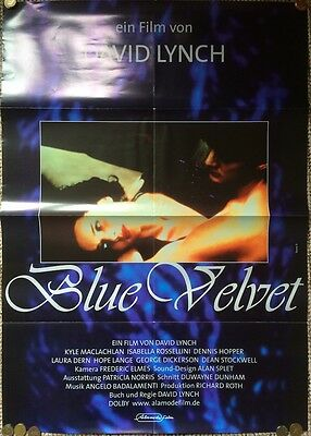 Blue Velvet Original Theatrical Film Poster David Lynch