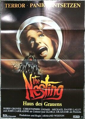 The Nesting Original Poster 80's Horror
