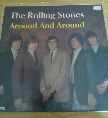 the rolling stones rare lp album around and around