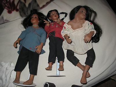 3 Porcelain Doll by Renate Hockh Georgetown Collection