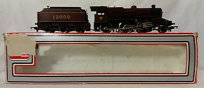 LIMA OO gauge LMS Crab Class 2-6-0 locomotive 13000, working but needs attention