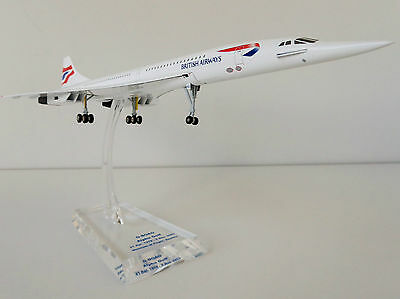 CONCORDE British Airways 1/200 Aerospatiale BAC BA G-BOAG Limox Hogan LI8843AG