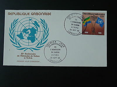 25 years of admission to United Nations UNO FDC Gabon 74246