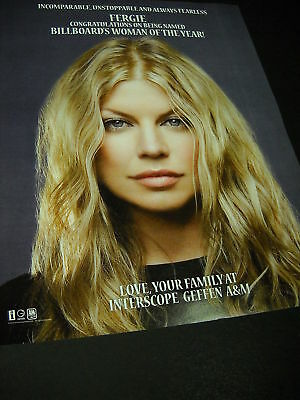 FERGIE Incomparable Unstoppable and Fearless PROMO AD