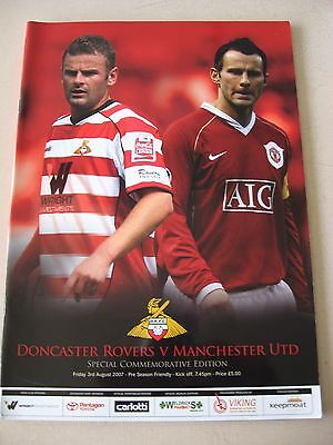3.8.2007 Doncaster Rovers v MAnchester United opening of Keepmoat Stadium