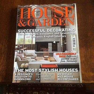 House And Garden Magazine October 2011 The Most Stylish Houses