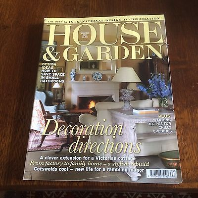 House And Garden Magazine March 2011 Decoration Directions