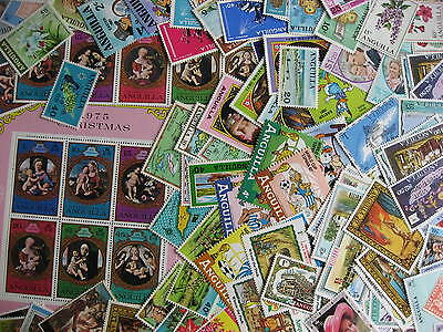 Internationals WW collection breakdown, ANGUILLA 125 different,check them out!