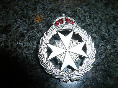 King's Crown St John Ambulance Badge