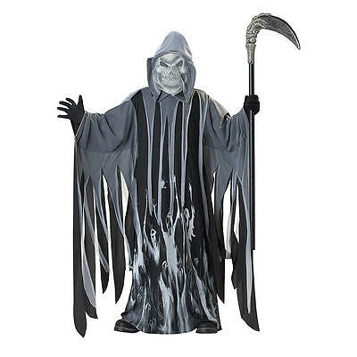 NWT Totally Ghoul Boys sz. L SOUL TAKER Reaper Halloween Costume scary $35.99