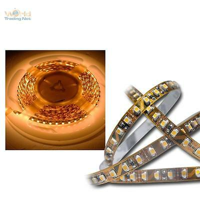 ( 18€/ m) 5m SMD LED Baguette 600 LEDS golden-weiß éclairage indirect bande