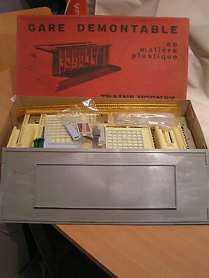 TRAINS HORNBY/MECCANO FRANCE - GARE DEMONTABLE 22 ech/scale O (1/43,5)