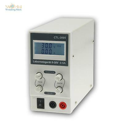 "Adjustable Laboratory Power Supply "" ctl-3005 "" Network 0-30V 5A"