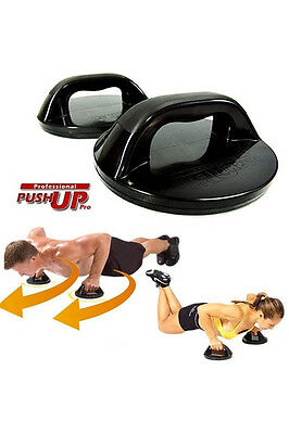 Professional Push Up Pro As Seen On TV Rotating Grips & Workout Nutrition Guide
