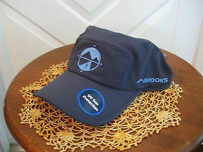 New Brooks DriLayer Sherpa Running Hat Cap Unisex  One Size Adjustable Gray NWT