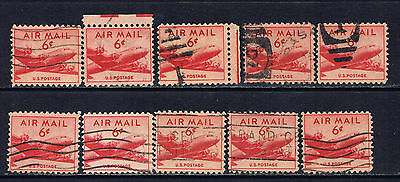 United States #C39(4) 1949 6 cent Airmail - DC-4 Skymaster Plane Used