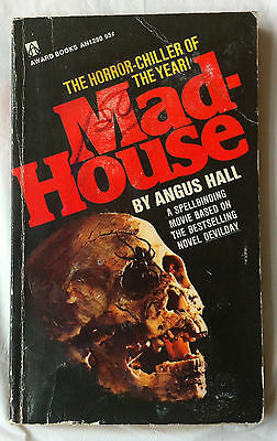 Madhouse paperback Angus Hall movie tie-in 1969 Vincent Price Horror Devilday